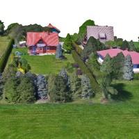 model 3D - zagospodarowanie przestrzeni zielonej, ogrodów