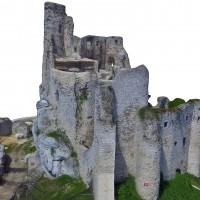 Zamek Mirów - model fotogrametryczny