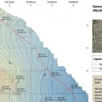 NMT Rzeźba terenu izohipsy