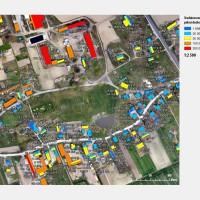 Mapa potencjału solarnego dla fotowoltaiki