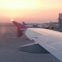 Samolotem...